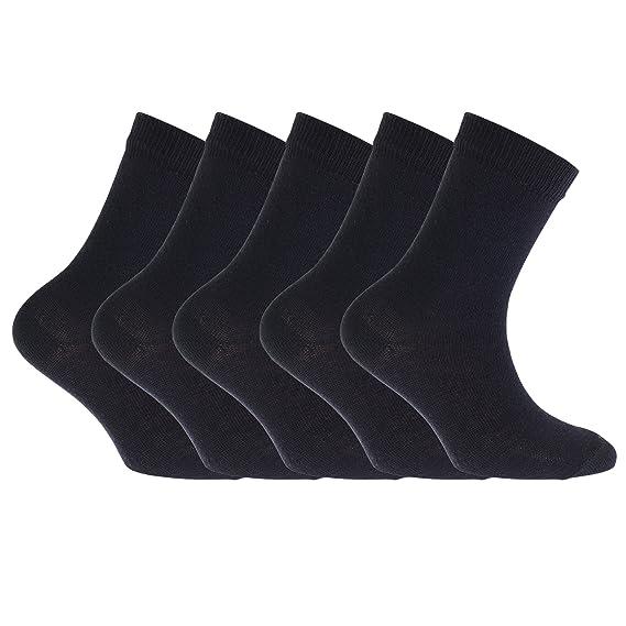 Floso - 5 pares de calcetines infantiles para uniforme: Amazon.es: Ropa y accesorios