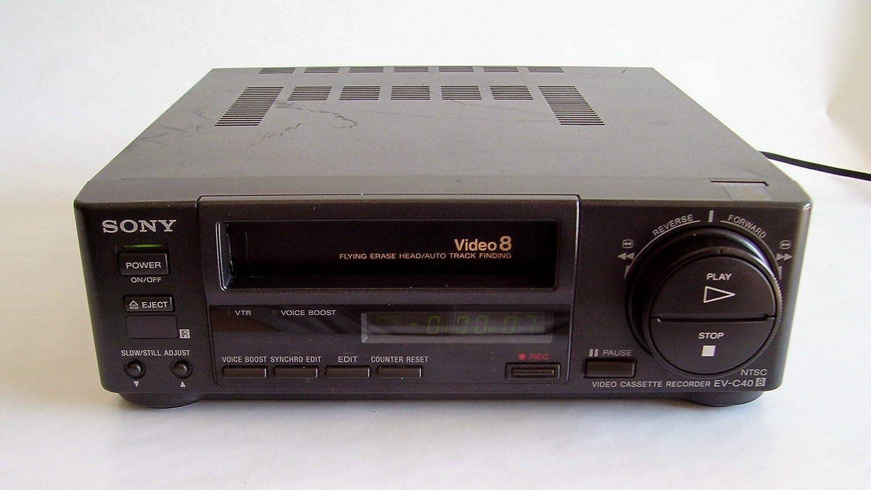 Amazon com: sony 8mm Video8 NTSC video cassette recorder player sony