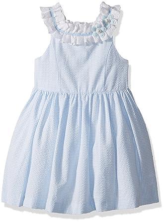 d7305ce8d Amazon.com: Laura Ashley London Girls' Ruffle Collar Dress: Clothing