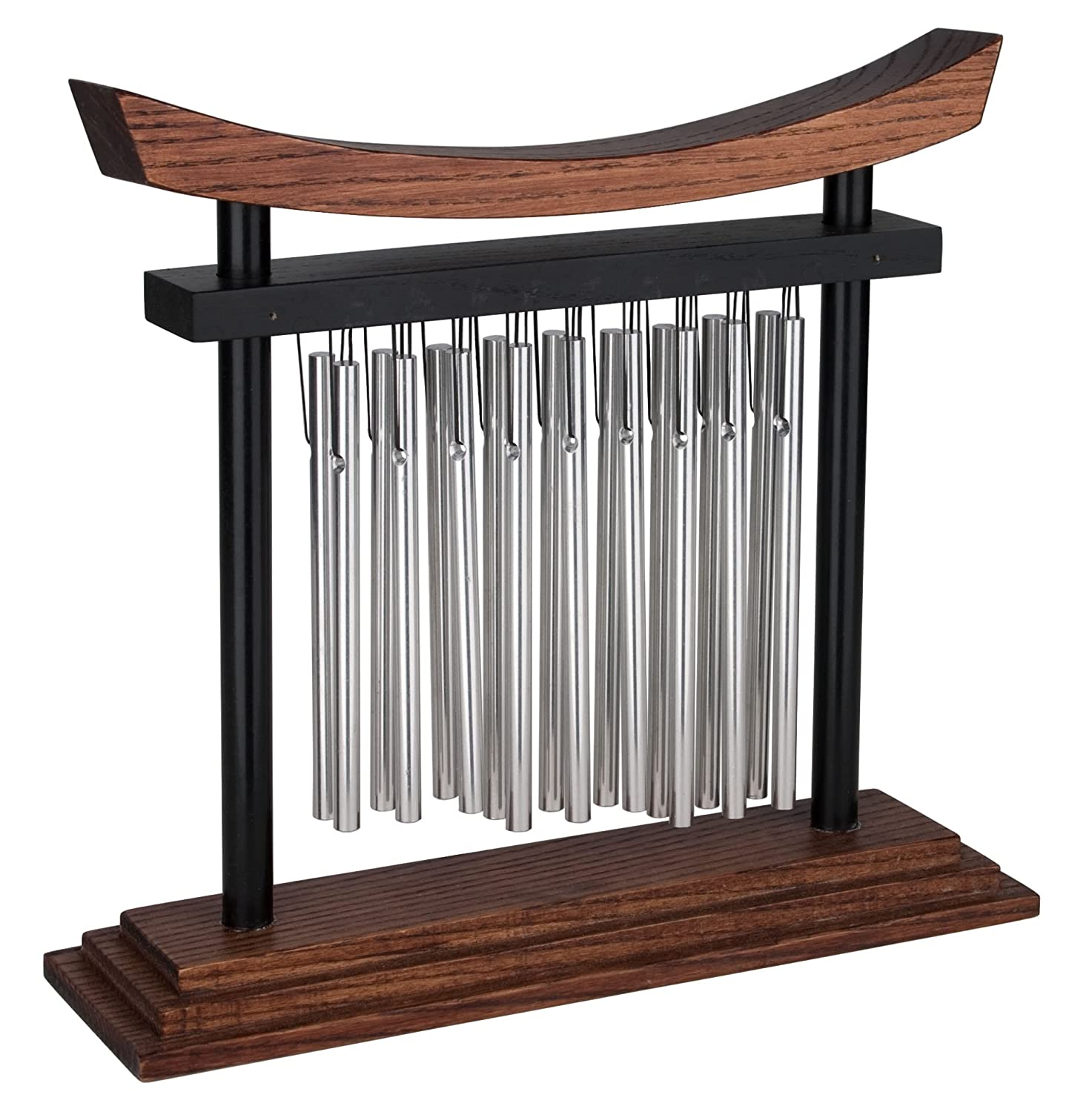 Woodstock Chimes Tranquility Table Chime, 9-Inch Tall by 10-Inch Wide TTC