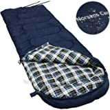 NORSENS Camping Backpacking Hiking Sleeping Bag 0 Celsius Degree, Compact Lightweight/Ultralight Sleeping Bags for Adults,Large