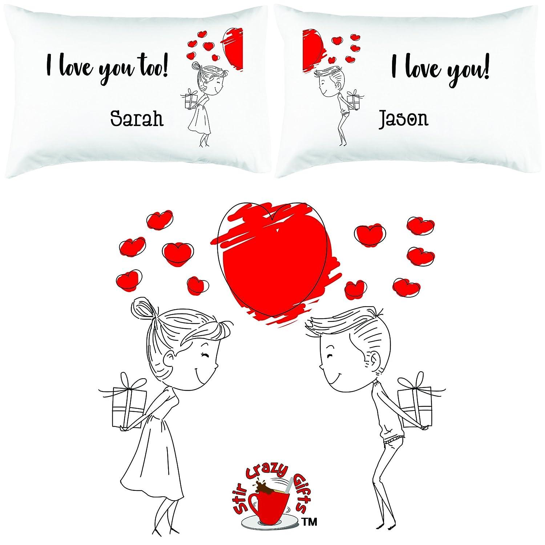 Amazon.com: Personalizado. Lindo romántico para parejas dar ...
