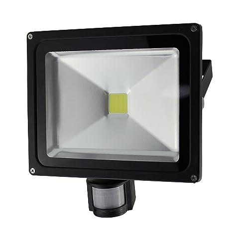Solight WM de 30ws de S a +, lámpara LED de exterior, sensor de