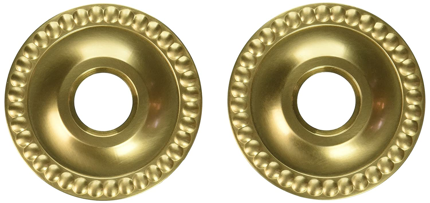 Baldwin 5053 Pair of Estate Rosettes for Passage Functions 5053033 Vintage Brass Baldwin Hardware Corp