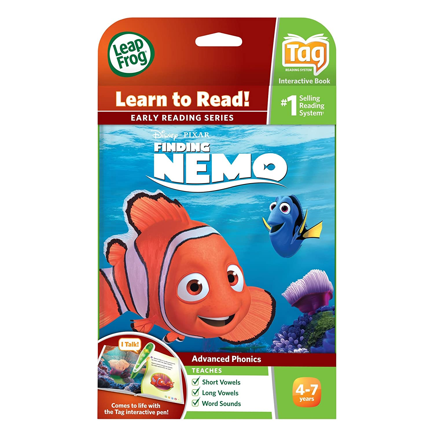 Leapfrog leapreader early reader book disney pixar finding nemo leapfrog leapreader early reader book disney pixar finding nemo lost and found works with tag amazon toys games gumiabroncs Gallery