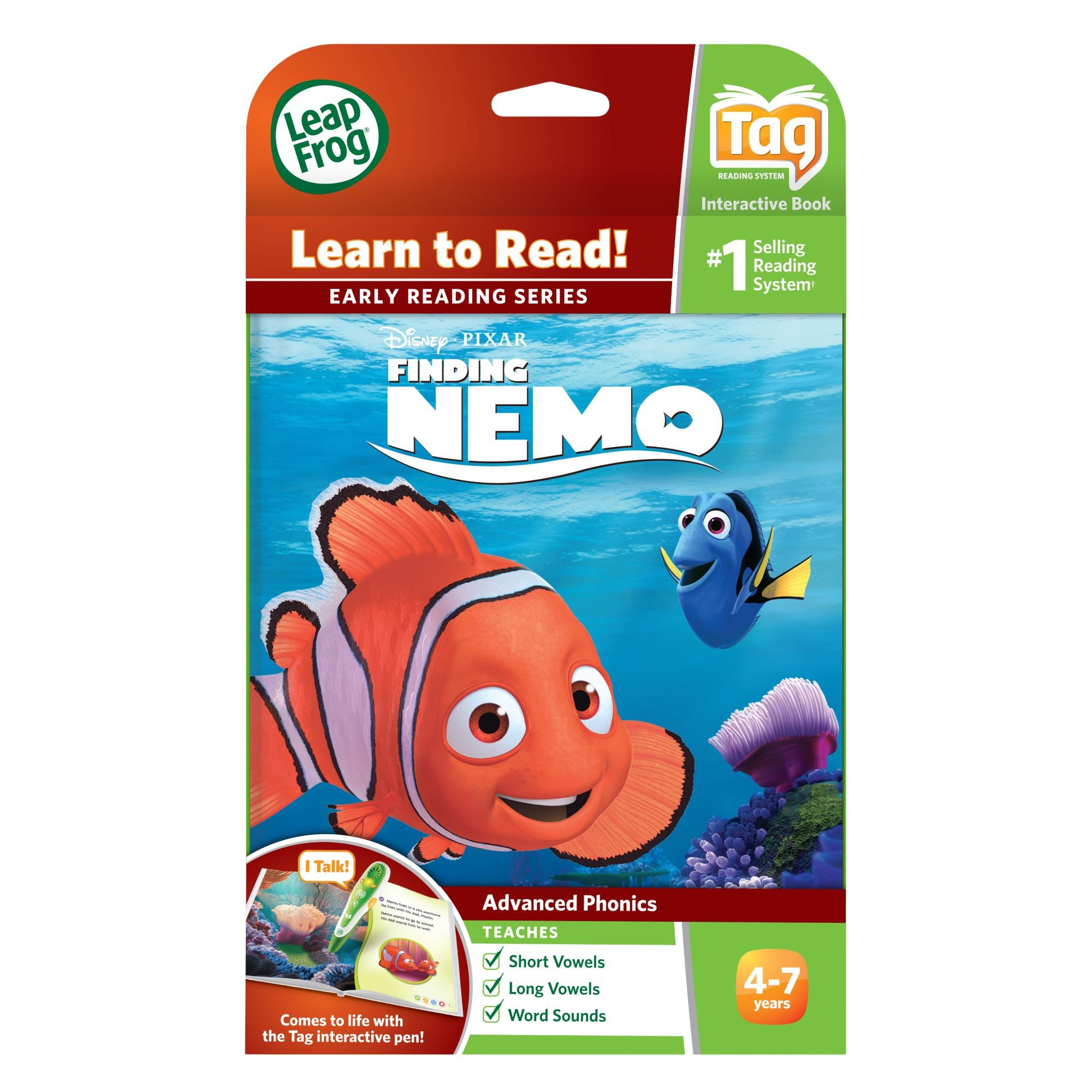LeapFrog LeapReader Book: Disney·Pixar Finding Nemo, Lost and Found (works with Tag) by LeapFrog (Image #4)