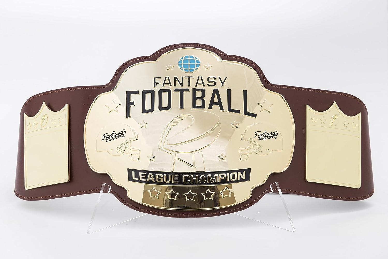 Fantasy Football ChampionshipベルトTrophy – ブラウン/ゴールド B0786TX2PS