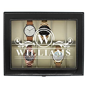 Buy Engraved Watch Box For Men Personalized Gifts For Him Custom