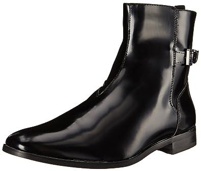 Amazon.com   Calvin Klein Men\'s Tyson Box Smooth Boot, Black, 8.5 ...