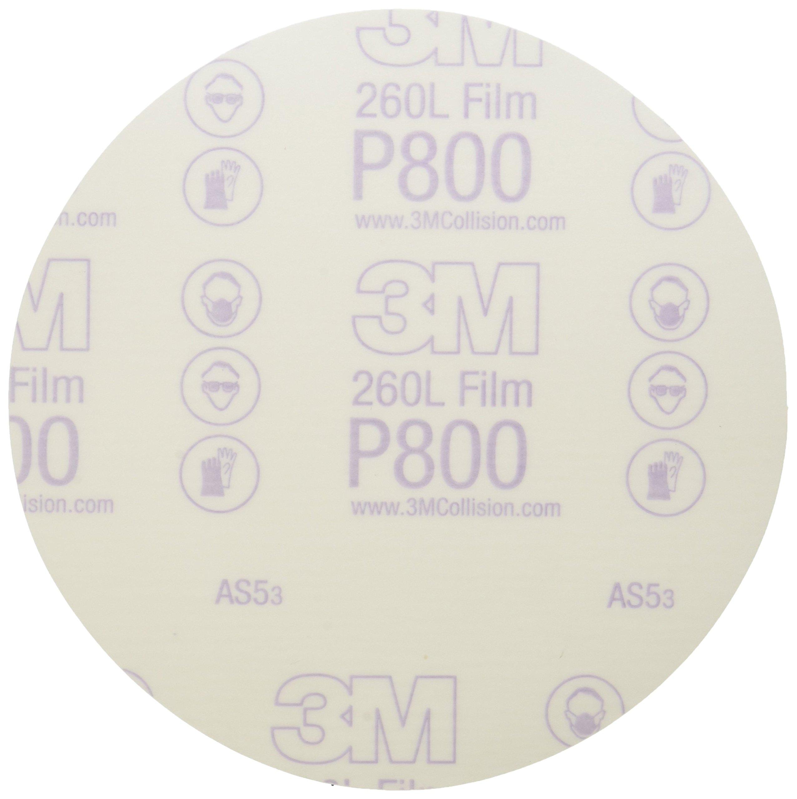 3M 01320 Stikit 6'' P800 Grit Finishing Film Disc