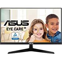 """ASUS VY249HE 23.8"""" Eye Care Monitor, 1080P Full HD, 75Hz, IPS, Adaptive-Sync/FreeSync, Eye Care Plus, Color Augmentation…"""