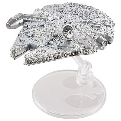 Hot Wheels Star Wars Commemorative Series Millennium Falcon Starship: Toys & Games