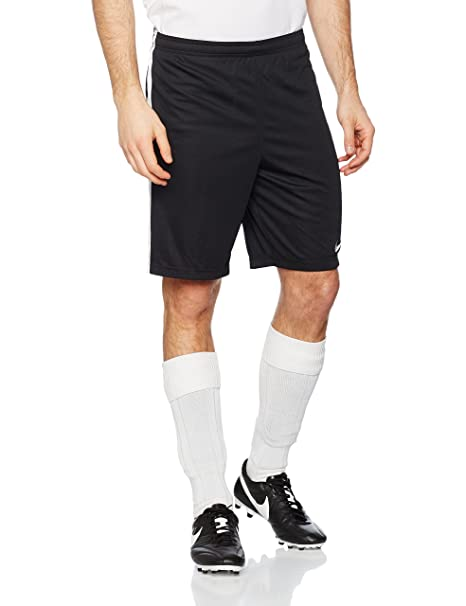 Nike Dry Academy Shorts (Black-White) (Small)