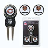 Team Golf NFL Chicago Bears Divot Tool with 3 Golf