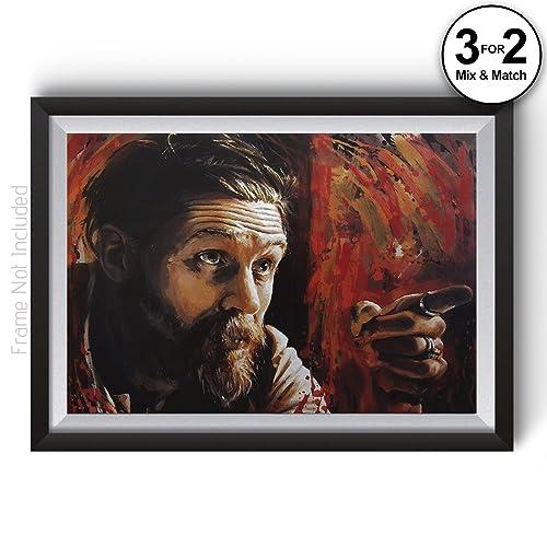 Peaky Blinders Alfie Solomons Tom Hardy Wall Art Poster Print, BBC ...