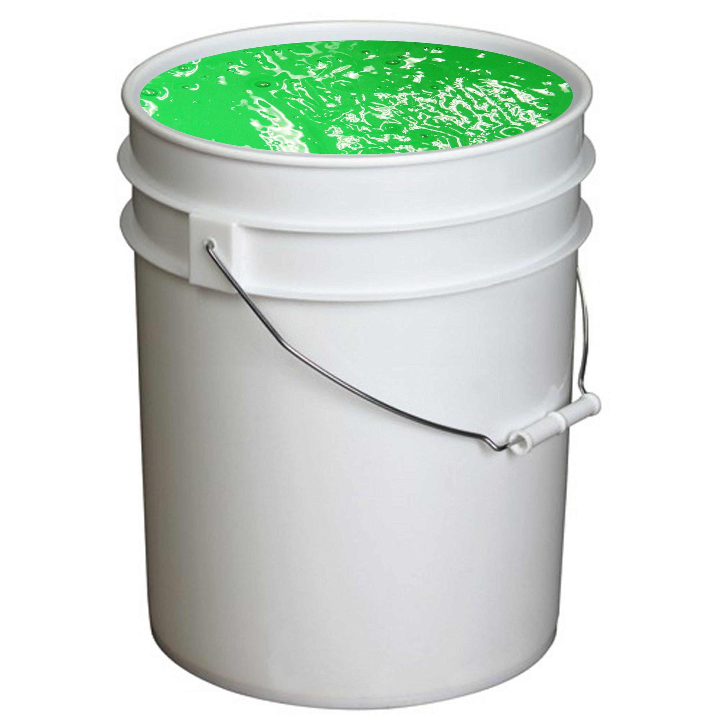 Handy Art UV Neon Event Paint in Bucket, 5-Gallon, Green