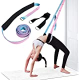 Ardella Yoga Fitness Exercise Stretching Strap – Leg and Waist Flexibility Workout, Back Bend Assist Trainer, Home Equipment