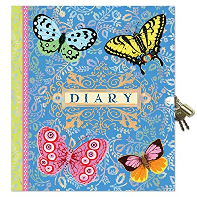 eeBoo Beautiful Diary with Lock and Key for Girls: Toys & Games