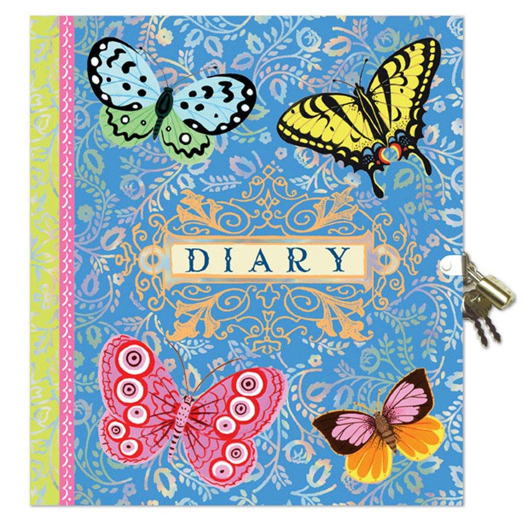 eeBoo Beautiful Diary with Lock and Key for Girls by eeBoo