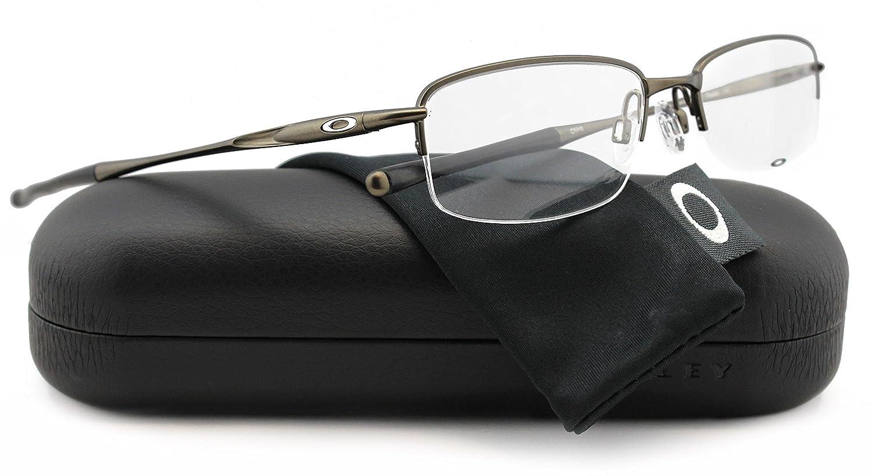 ade6b31da1 Oakley OX3102-0352 Clubface Pewter Eyeglasses Gunmetal OX3102 0352 52mm  Authentic  Amazon.co.uk  Shoes   Bags