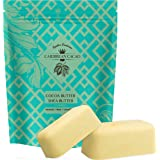 Unrefined Shea Butter Cocoa Butter - 1 LB Bar Each - Ivory Shea Butter and Raw Cocoa Butter, Hydrating Combo. Great for DIY f