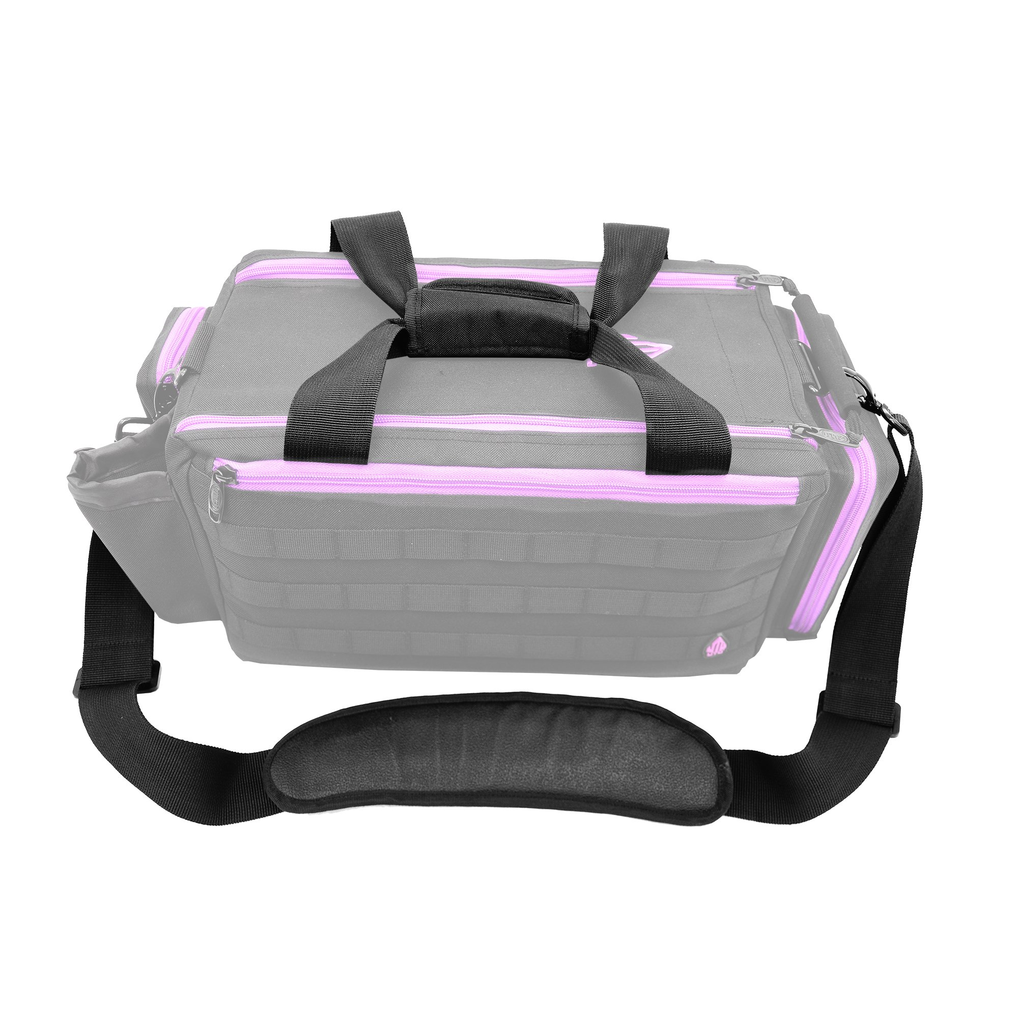 UTG All in One Range/Utility Go Bag, Black/Violet, 21'' x 10'' x 9'' by UTG (Image #12)
