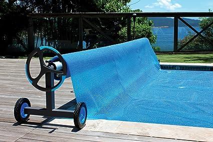 Amazon.com : Kokido Alux Aluminum Swimming Pool Cover Reel & Tube ...