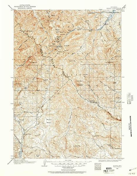 Kirwin Wyoming Map.Amazon Com Yellowmaps Kirwin Wy Topo Map 1 125000 Scale 30 X 30