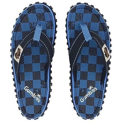 ed80724a2496 Gumbies - Islander Canvas Flip-Flops - Checker  Amazon.co.uk  Shoes   Bags
