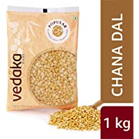Amazon Brand - Vedaka Popular Chana Dal, 1 kg