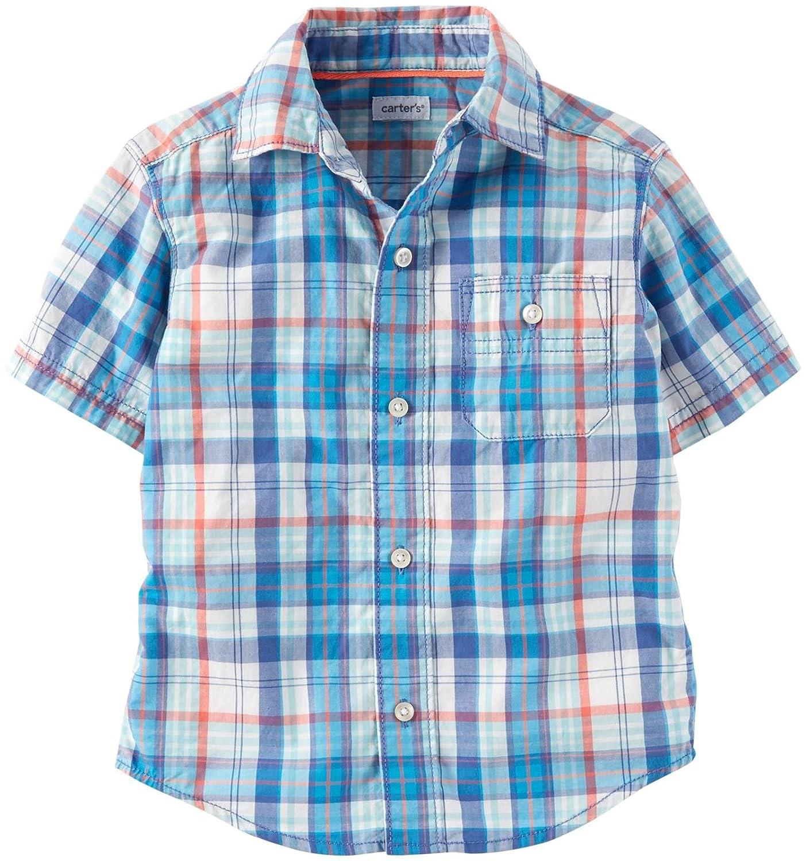Carter's Baby Boys' Plaid Shirt (Baby) Carter' s 1180708baby-boys