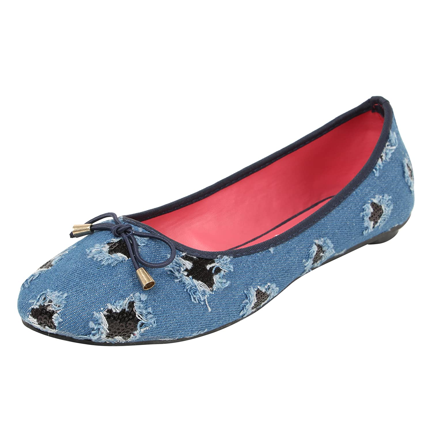 Catwalk Blue Ballerina for Women