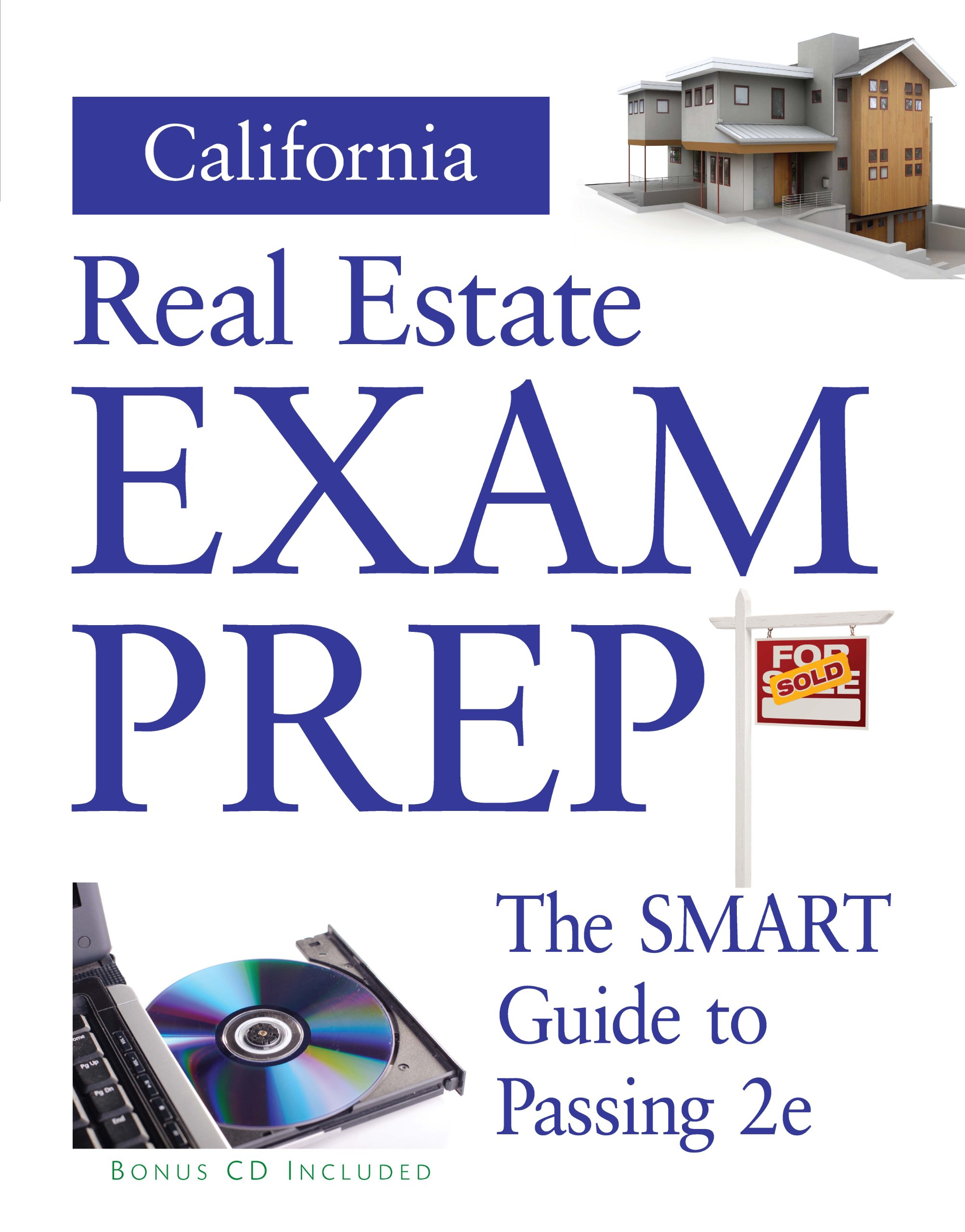 California Real Estate Prep  (Preparation Guide w/ CD)