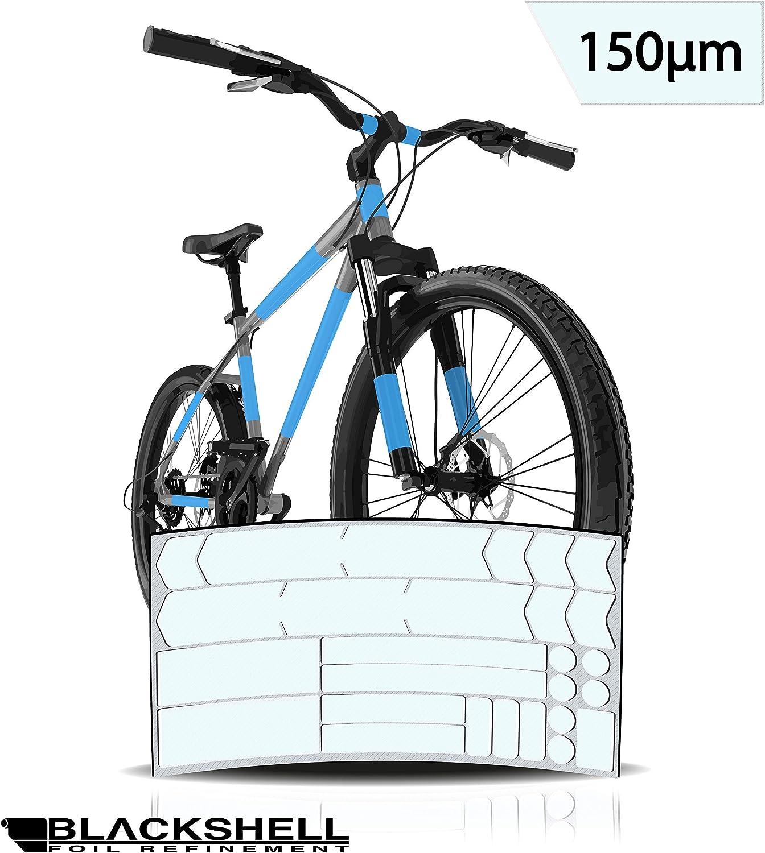Graz Design - Juego de adhesivos decorativos para bicicleta BMX, MTB, bicicleta de carretera o bicicleta eléctrica (24 unidades), transparente: Amazon.es: Deportes y aire libre