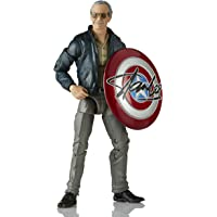 Marvel Legends Series 6-inch Collectible Action Figure Toy Marvel's The Avengers cameo Stan Lee®, Includes 2 Accessories