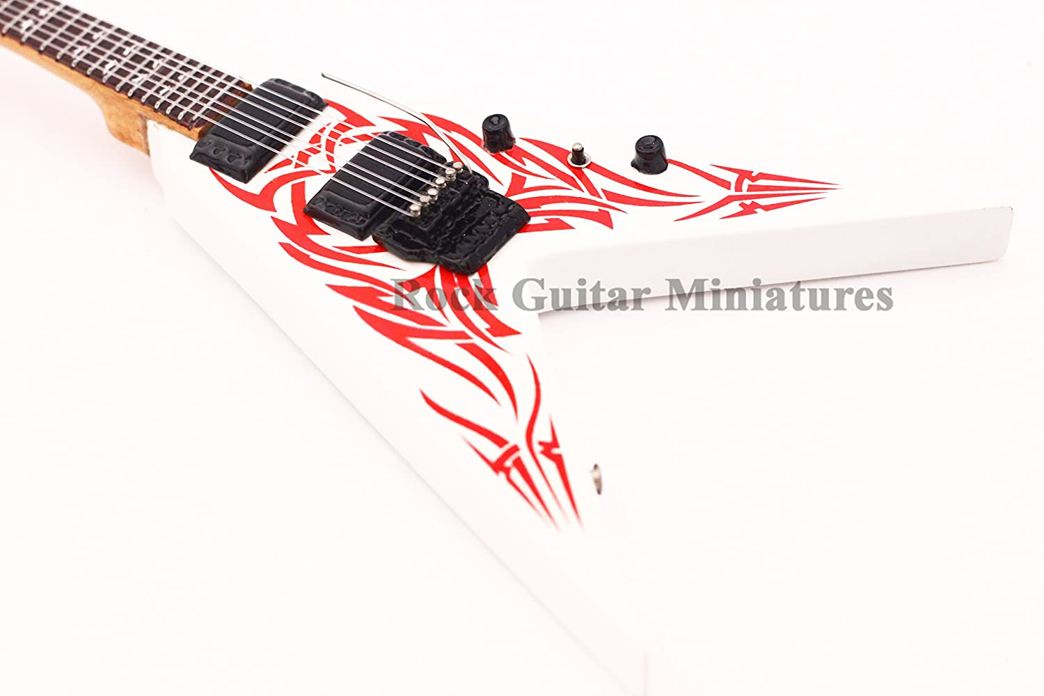 RGM657 BB Rick Kerry King Guitarra en miñatura: Amazon.es: Electrónica