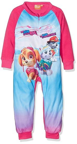 Pijama Pelele Niña Polar PATRULLA CANINA Fucsia (2)