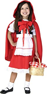 Fun Costumes Girlsu0027 Deluxe Little Red Riding Hood Costume  sc 1 st  Amazon.com : girls wolf costumes  - Germanpascual.Com