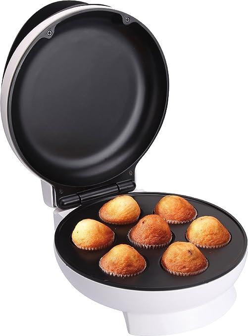 Jata GM 750 Grill Magdalenas Y Cupcakes 7 Cavidades, 1500 W, 0 ...
