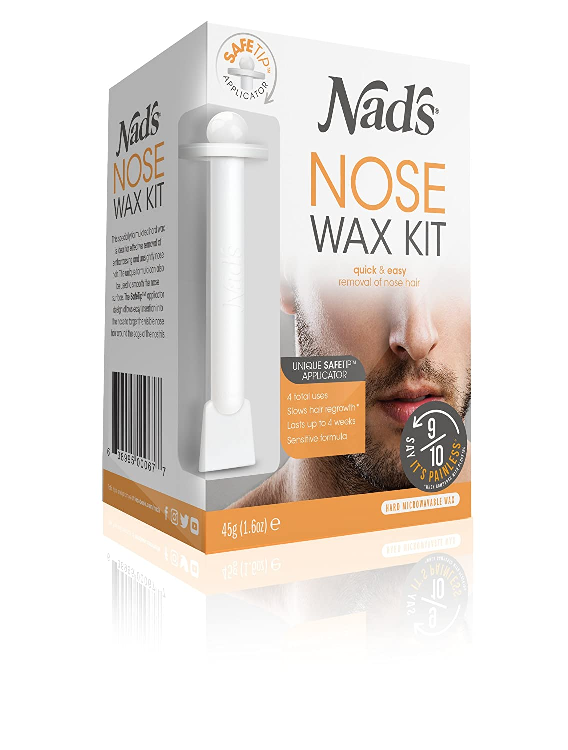 NAD's Nose Wax for Men & Women 1.6 oz Lifesource Group US Inc. 4668