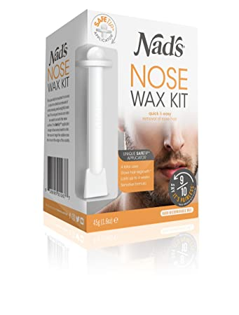 Amazon nads nose wax for men women 16 oz hair removal nads nose wax for men women solutioingenieria Gallery