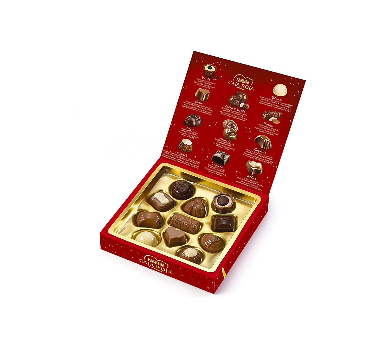 NESTLÉ CAJA ROJA Bombones de Chocolate - Estuche 100g: Amazon.es: Amazon Pantry