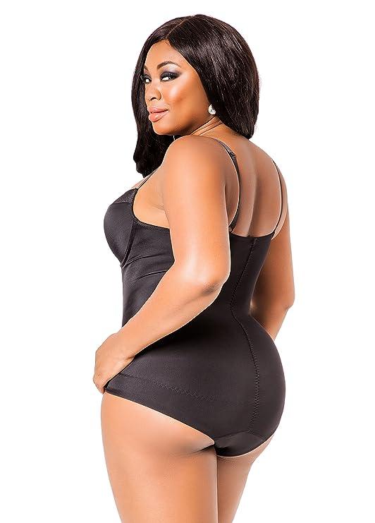 0f2fbbefaeeb8 Ashley Stewart Women s Plus Size Ultra Smoothing Body Suit - Size ...