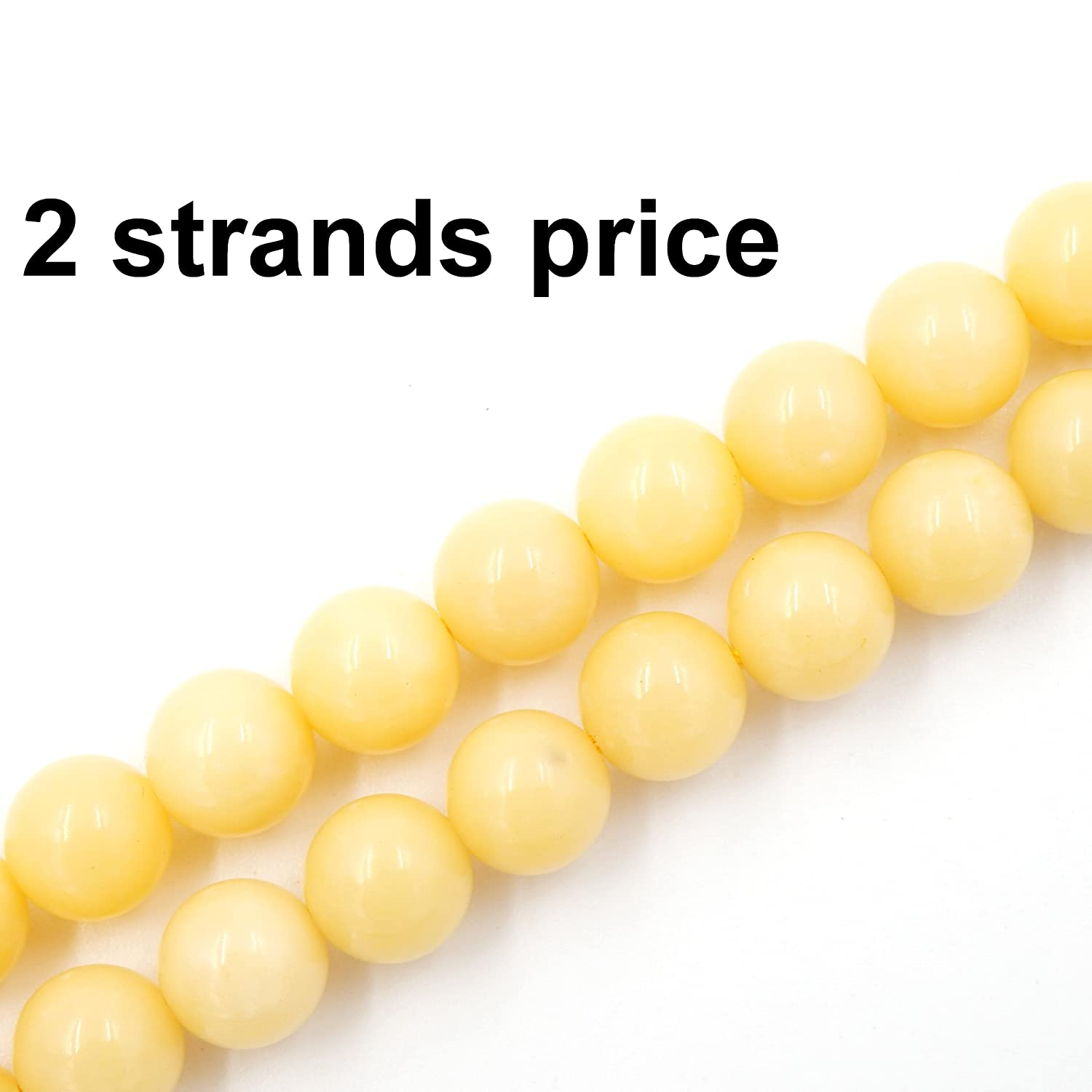 Wax Jade 8mm Precious Gemstone Beads for Jewelry Making, 100% Natural AAA Grade, Sold per Bag 2 Strands Inside (Chrysocolla, 6mm)