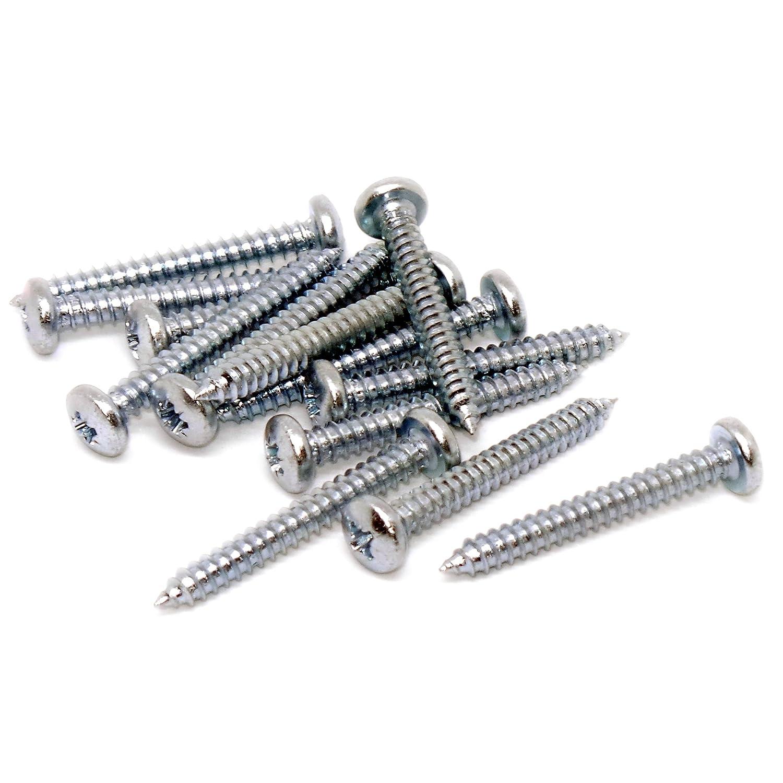 tornillo autorroscante de cabeza troncoc/ónica Tornillos/ Pack de 50 4,8/mm x 13/mm 10/x 0.5/ /acero