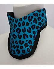Thyroid Shield 3/4 Buckle Back, Radiation, X-Ray Protection (Pink Leopard)