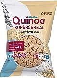 Awsum Snacks Organic Quinoa SUPERCEREAL 6oz bag Gluten Free Immune Support Puffed Quinoa Seeds Healthy Vegan Snack Kosher Diabetic High Protein And Fiber Crunchy No Sugar Cereal