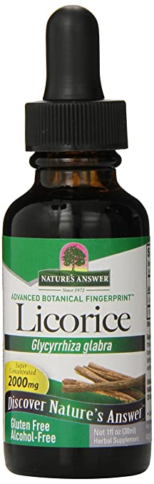 Nature's Answer Alcohol-Free Licorice Root, 1-Fluid Ounce