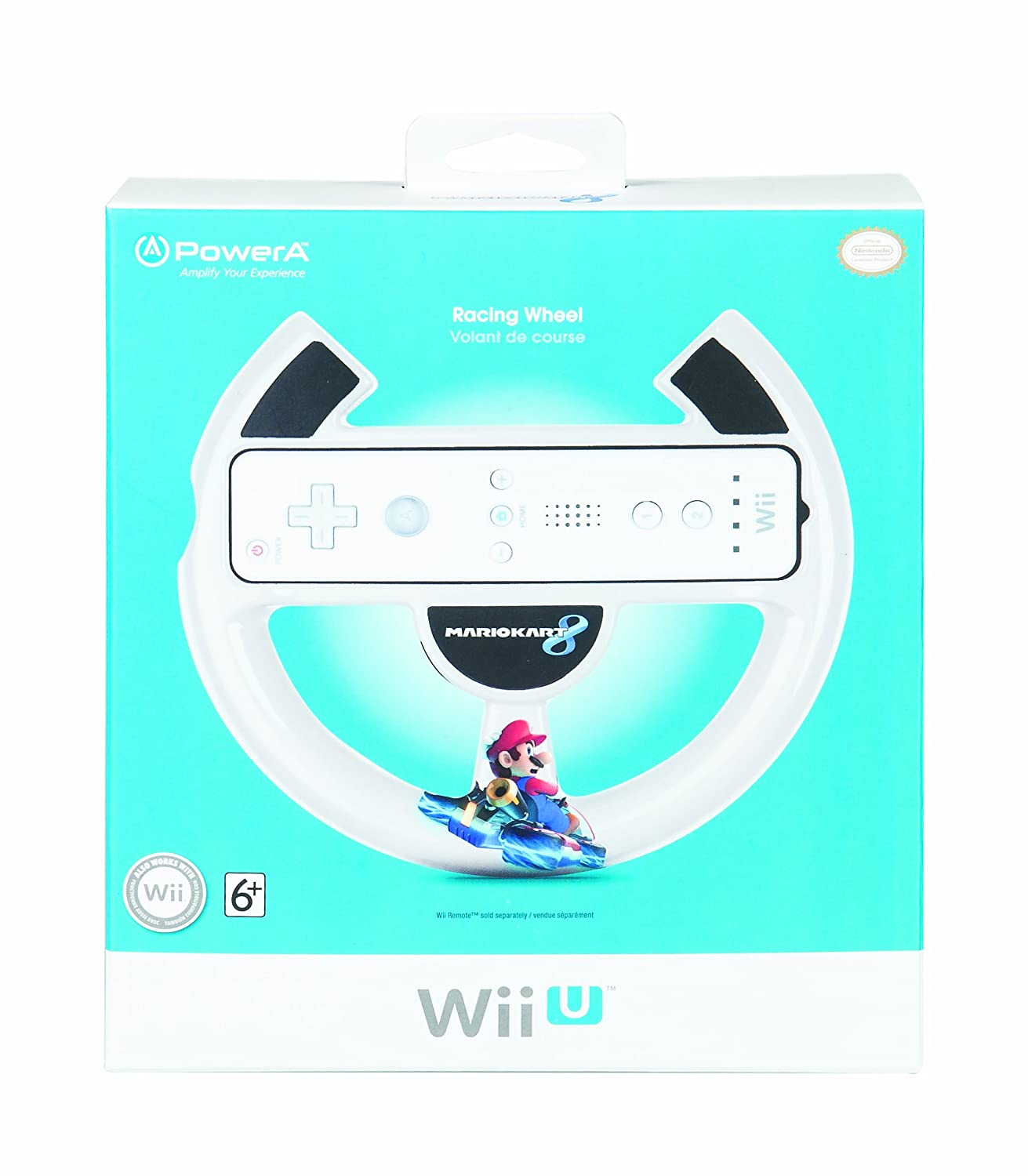 Mario kart 8 for sale - Mario Kart 8 Racing Wheel Nintendo Wii U Amazon Co Uk Pc Video Games