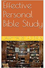 Effective Personal Bible Study Kindle Edition